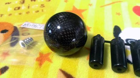 なんつって無限風カーボン球シフトノブ