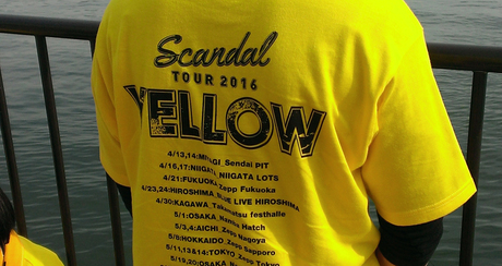 SCANDAL TOUR 2016「YELLOW」