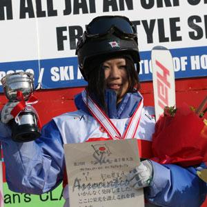 村田愛里咲、初優勝。