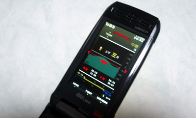 CASIO G'zOne W62CA